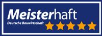 Prädikat Meisterhaft 5Sterne für Krämer Projektbau GmbH